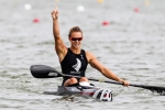 LISA CARRINGTON (NZL) WORLD CHAMPION and NEW WORLD RECORD HOLDER in K1 200m, SILVER MEDALIS